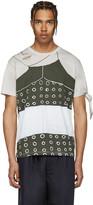 J.W.Anderson SSENSE Exclusive Grey Kelly Beeman Edition Single Knot T-Shirt