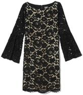 Vince Camuto Bell-sleeve Lace Dress