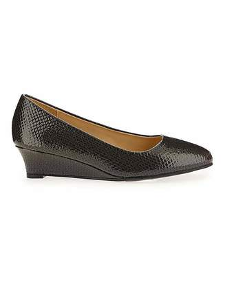 Jd Williams Low Wedge Shoes E Fit