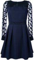 GUILD PRIME sheer sleeve dress