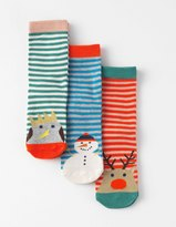 Boden 3 Pack Novelty Socks