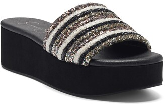 Jessica Simpson Trivia Platform Sandal