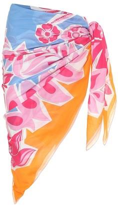 Printed cotton sarong