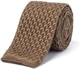 Gibson Camel Knit Tie