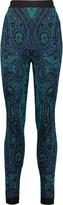 Balmain Intarsia-knit leggings