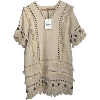 Spell & The Gypsy Collective Beige Cotton Dress for Women