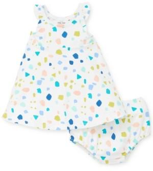 Focus Kids Baby Girls 2-Pc. Safari Dress & Diaper Cover Set