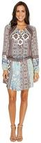 Hale Bob A Fine Line Stretch Satin Woven Dress Women's Dress