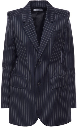 Balenciaga Pinstriped Wool And Cashmere-blend Twill Blazer