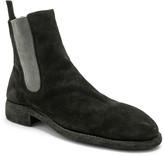 Guidi Suede Chelsea Boots in Black   FWRD