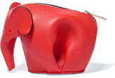 Loewe Elephant Leather Wallet - Red