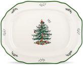 Spode Christmas Tree Sculpted Platter