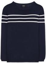 A.P.C. Joy striped sweater