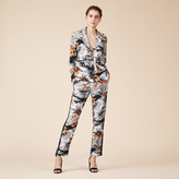 Maje Floaty printed trousers
