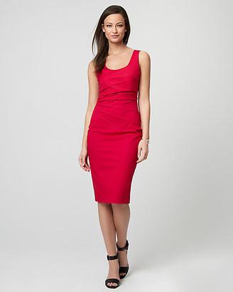 Le Château Cotton Twill Scoop Neck Dress