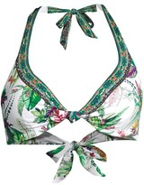 Camilla Daintree Darling Embellished Halter Bikini Top