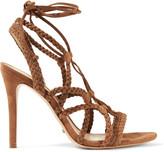 Schutz Braided suede sandals