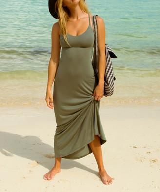 Body Glove Women's Maxi Dresses 270_CACTUS - Cactus Strappy Nerida Racerback Maxi Dress - Women