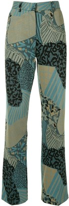 M Missoni Geometric Print Suit Trousers