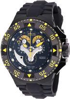 Invicta Mens Black Silicone Strap Watch