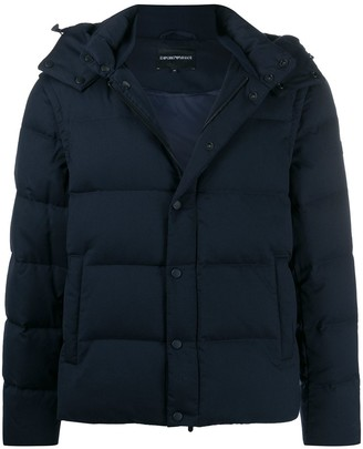 Emporio Armani Hooded Down Jacket