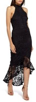 Missguided Women's Lace Fishtail Body-Con Dress