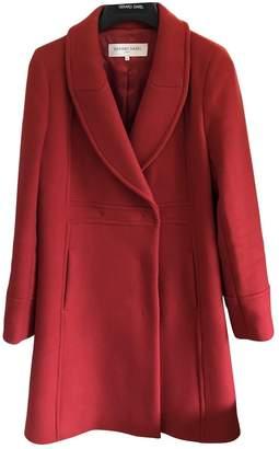 Gerard Darel Red Wool Coat for Women