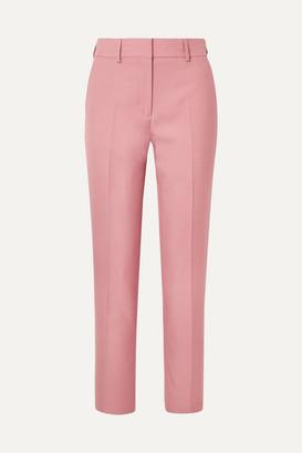 Burberry Twill Straight-leg Pants - Antique rose