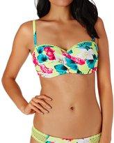Seafolly Twist Front D Bustier Bikini Top