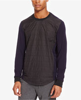Kenneth Cole Reaction Men's Quilted Crew-Neck Sweatshirt
