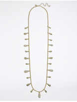 M&S Collection Gold Plated Long Necklace