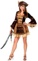Fun World Costumes Sassy Victorian Pirate Adult Md-Lg Halloween Costume