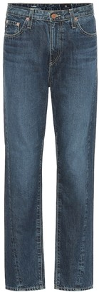 AG Jeans The Phoebe high-rise straight jeans