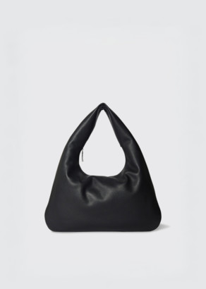 The Row Everyday Shoulder Bag Black