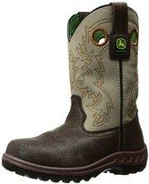 John Deere Kids' Jd2417 Western Boot
