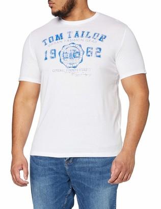 TOM TAILOR Men+ Logo T-Shirt - - XX-Large