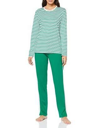 Schiesser Women's Anzug Lang Pyjama Sets,(Size: 034)