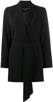 Alice + Olivia Wheaton belted blazer