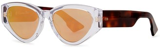 Christian Dior DiorSpirit2 Mirrored Sunglasses