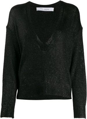 IRO Nanga metallic loose-fit jumper