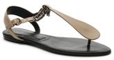 Roger Vivier Final Sale Leather Flat Sandal