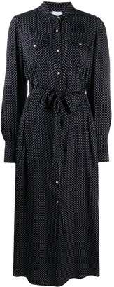 Merci Polka Dot-Print Shirt Dress