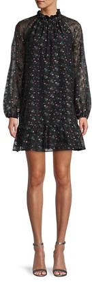 Cynthia Rowley Florence Mini Flounce Dress