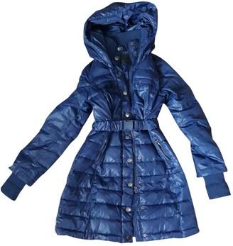Pinko Blue Coat for Women