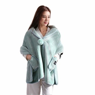 ARKIM Womens Cosy Wrap Shawl Wool Blanket Pashminas Cover Up Winter Wraps for Women