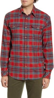 Coastaoro McGee Plaid Regular Fit Flannel Shirt
