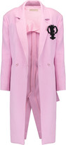 Emilio Pucci Embellished textured cotton-blend coat