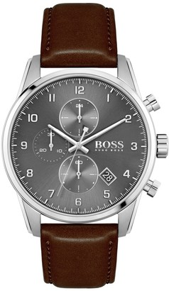 Boss Business BOSS HUGO BOSS 1513787 Skymaster Watch Brown