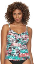 Women's Upstream Sport Polka-Dot Tankini Top