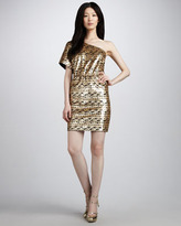 Trina Turk Cut A Rug Sequined Dress